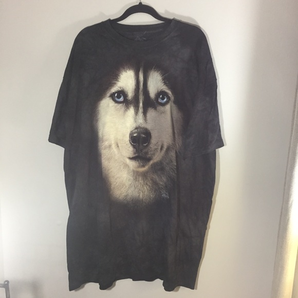 The Mountain Other - The Mountain husky T shirt in black